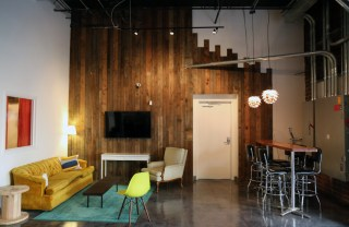 VIP area