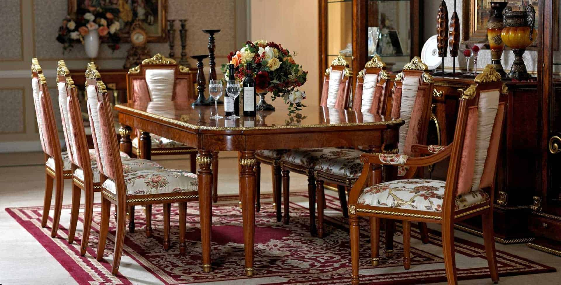 Luxurious Dining Rooms Home Decorating Pictures Room And Furniture