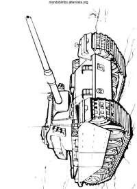 Carri armati da colorare  Mondo Bimbo