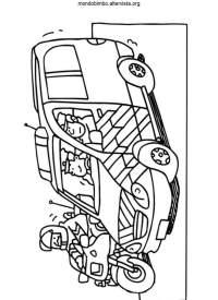 Disegni Da Colorare Auto Carabinieri | Timazighin