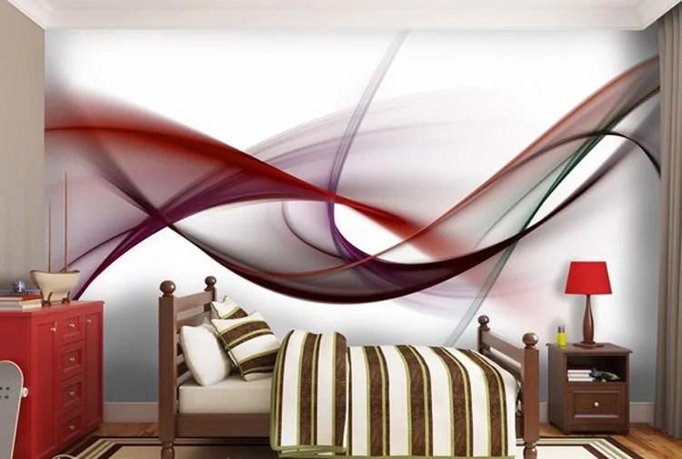 3d Wallpaper Decorating Ideas 30 Camerette Per Ragazzi Con Pareti Decorate Mondodesign It