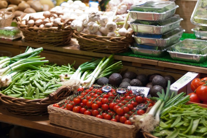 Food Market in Stockholm