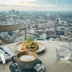My favourite breakfast spot table n 63 duckandwaffle!