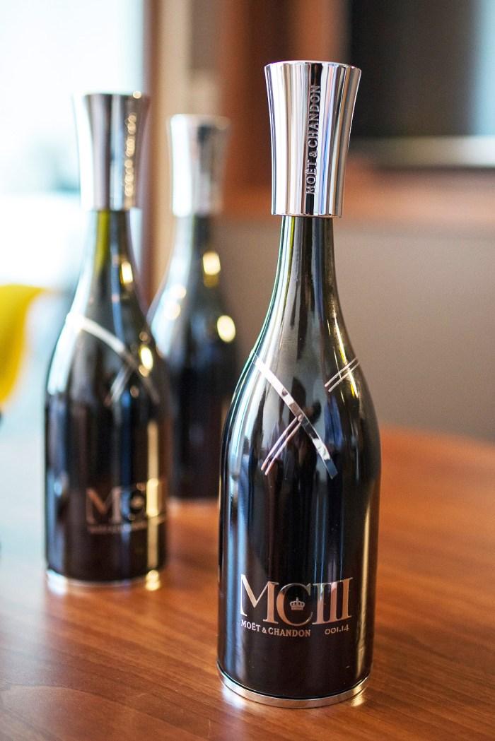 Mo t chandon mciii launch in paris - Seau a champagne moet et chandon ...