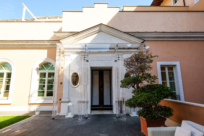 Luxury stay at gran melia rome villa agrippina mondomulia for Gran melia rome villa agrippina