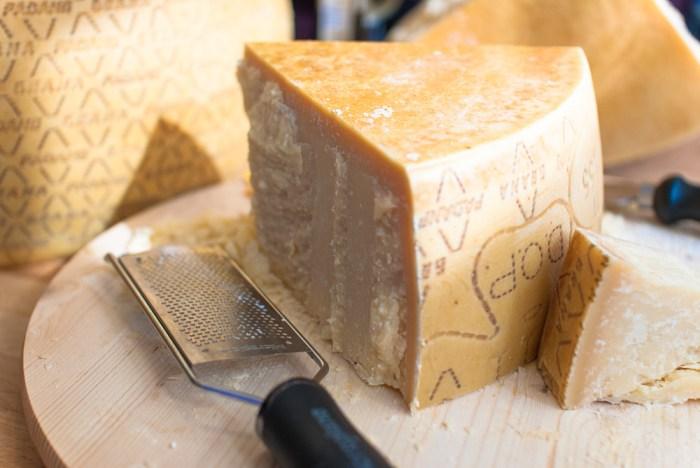 Risotto with Grana Padano cheese