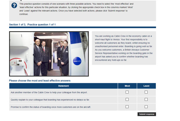 British Airways Cabin Crew Recruitment