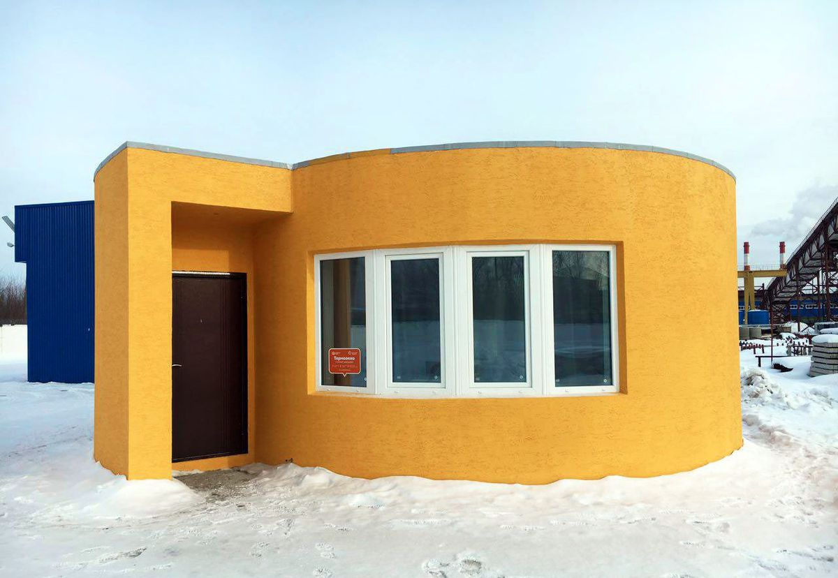 3d Drucker Haus This House Was 3d Printed In Just 24 Hours