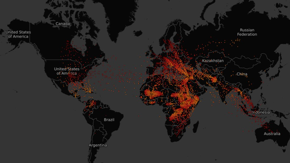 Interactive map shows the global refugee crisis like you\u0027ve never