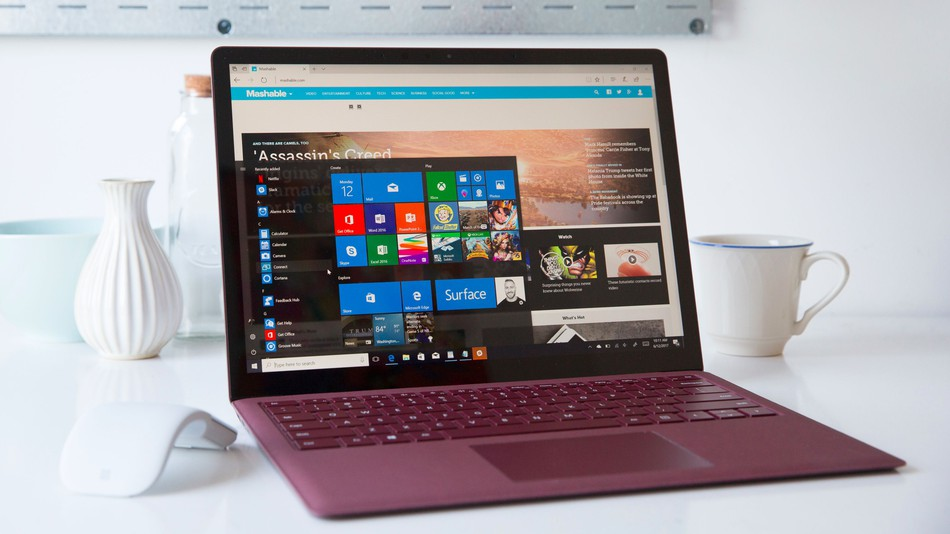 Surface Laptop review Microsoft\u0027s first laptop is a winner