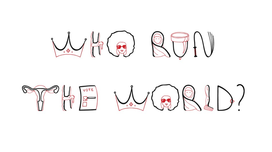The Feminist Letters A new typeface to amplify messages of equality