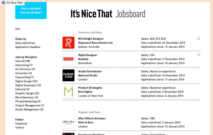 13 Essential Job Boards for Creatives