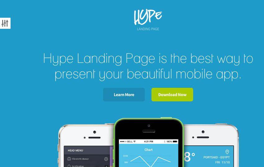 12 Premium Responsive Landing Page Templates