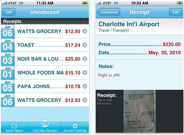 7 Handy iPhone Apps for Creating Expense Reports