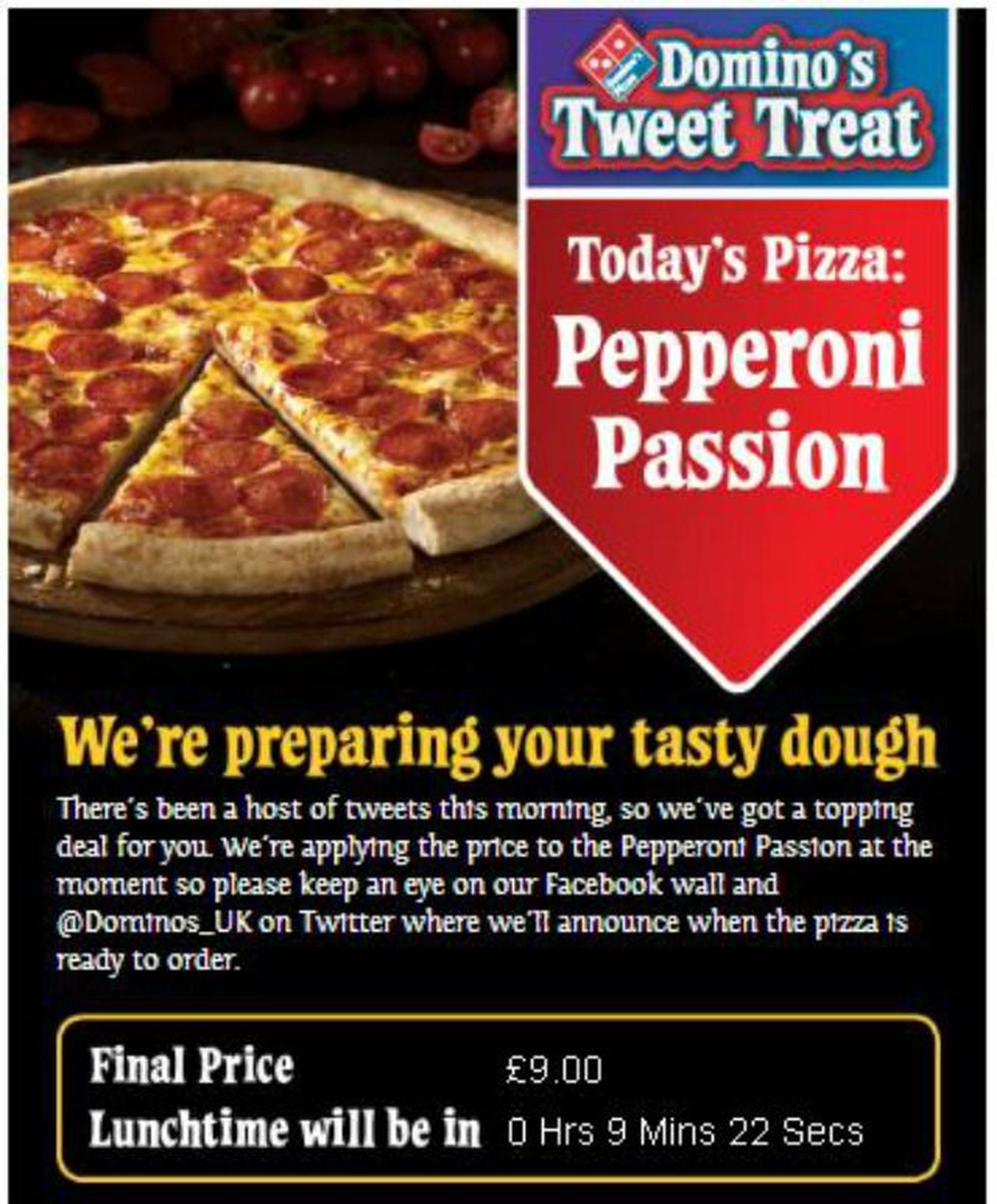 Dominos 6 Successful Twitter Hashtag Campaigns