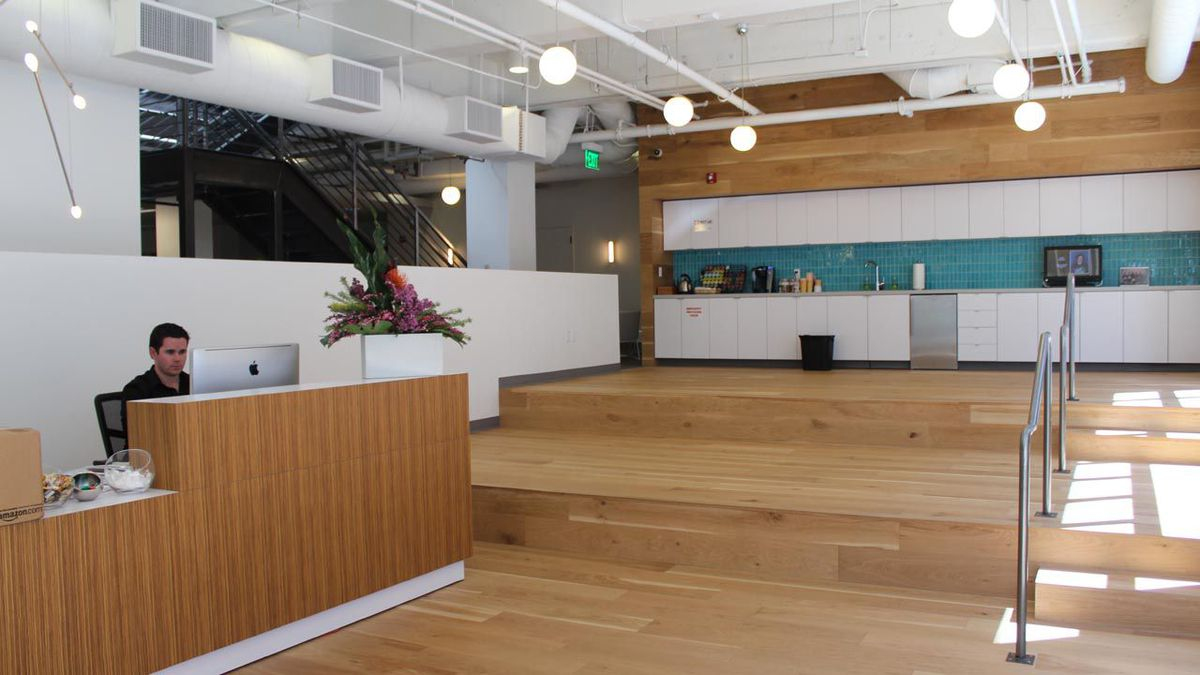 Creative Office Reception Design 13 Hot Startups With Inspired Office Design