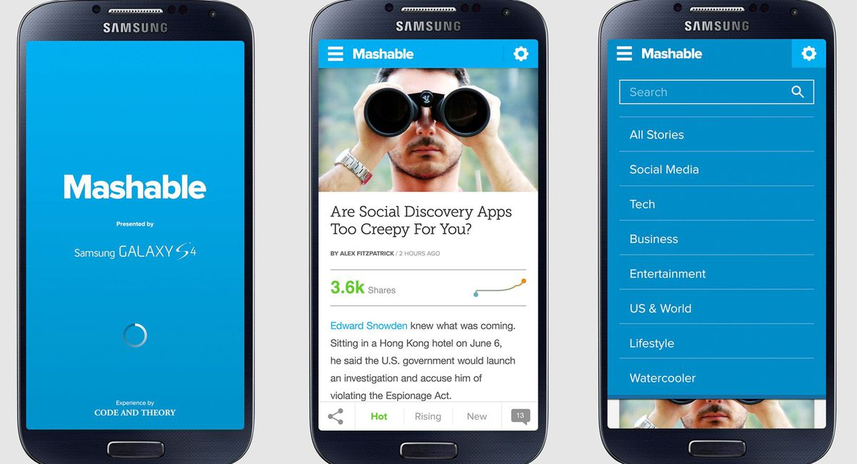 New Mashable Android App Predicts What\u0027s Going Viral