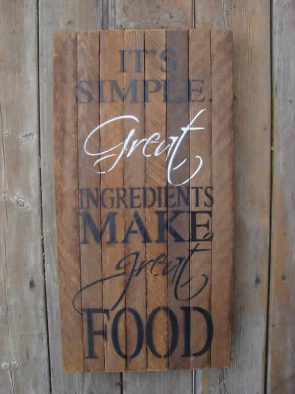Houses Made Of Wood And Light Great Ingredients Wall Art - Mondus Distinction Garden Decor