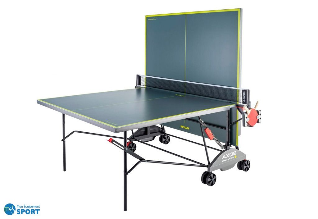 Table De Ping Pong Exterieur En Ciment Table De Ping Pong D'extérieur Outdoor 3 Pliable - Kettler