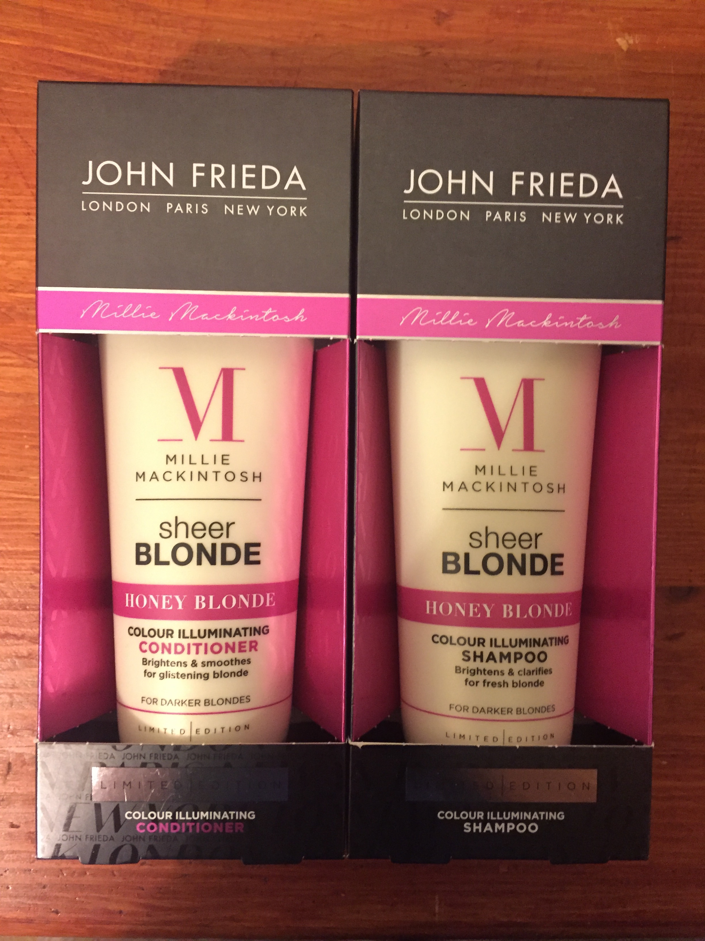 Aldi Shampoo Range John Frieda Sheer Blonde Shampoo And Condition 1 25 All In