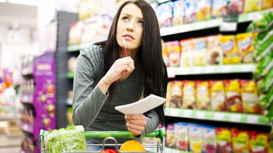 How to Make a Grocery Price Book to Save at the Supermarket - supermarket listing