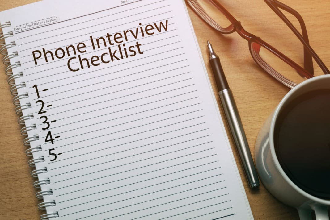 How to Prepare for Phone Interview Questions - Etiquette, Tips  Tricks