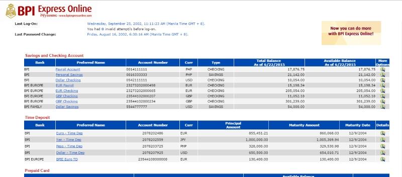 Money Girl Philippines - Multiple Bank Accounts