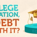 College Education: Is the Debt Worth It? [Infographic]
