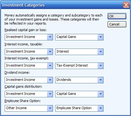 Dividend categories Microsoft (MS) Money FAQ and Help