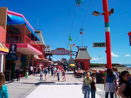 Santa Cruz Boardwalk 14 WAYS TO LIVE LUXURIOUSLY WITHOUT (NECESSARILY) SPENDING A LOT OF MONEY.