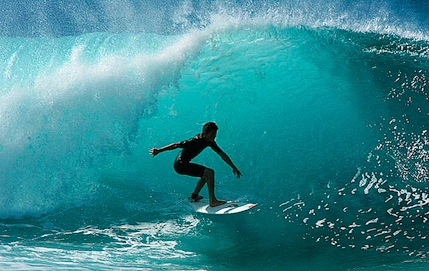 surfing 14 WAYS TO LIVE LUXURIOUSLY WITHOUT (NECESSARILY) SPENDING A LOT OF MONEY.