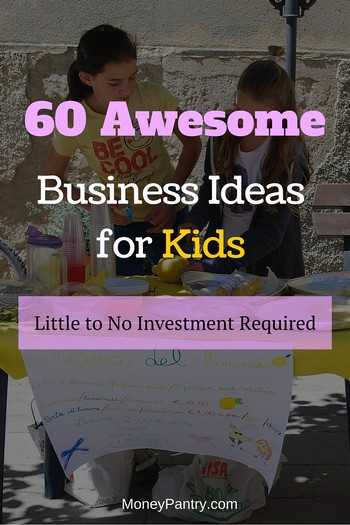 60 Small Business Ideas for Teenagers  Kids - MoneyPantry
