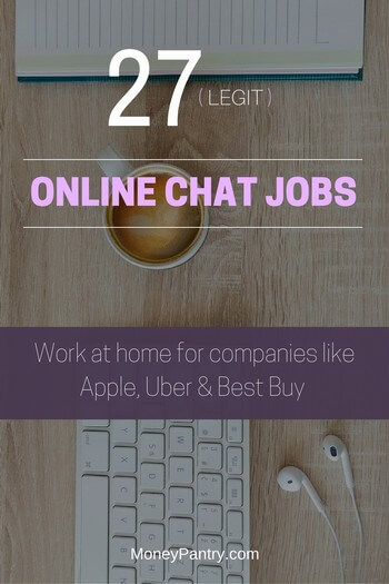 27 Online Chat Jobs Work at Home as a Live Chat Agent (Updated for