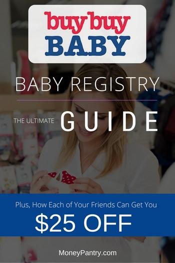Buy Buy Baby Registry Perks, Coupons ( $25 Off for Each Friend You - buy buy baby job application