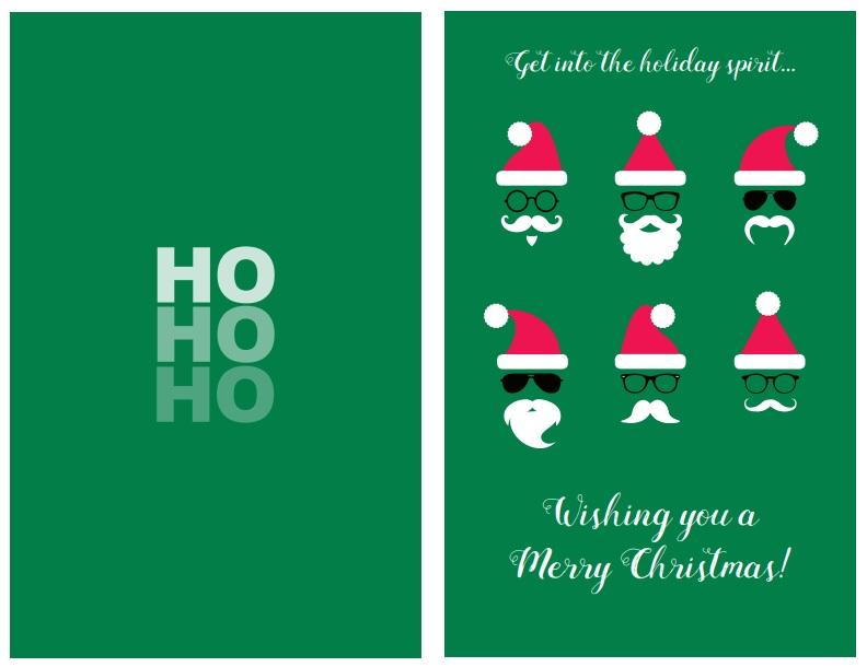 47 Free Printable Christmas Card Templates (You Can Even Make Photo