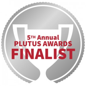 Plutus Award Finalist logo 2014