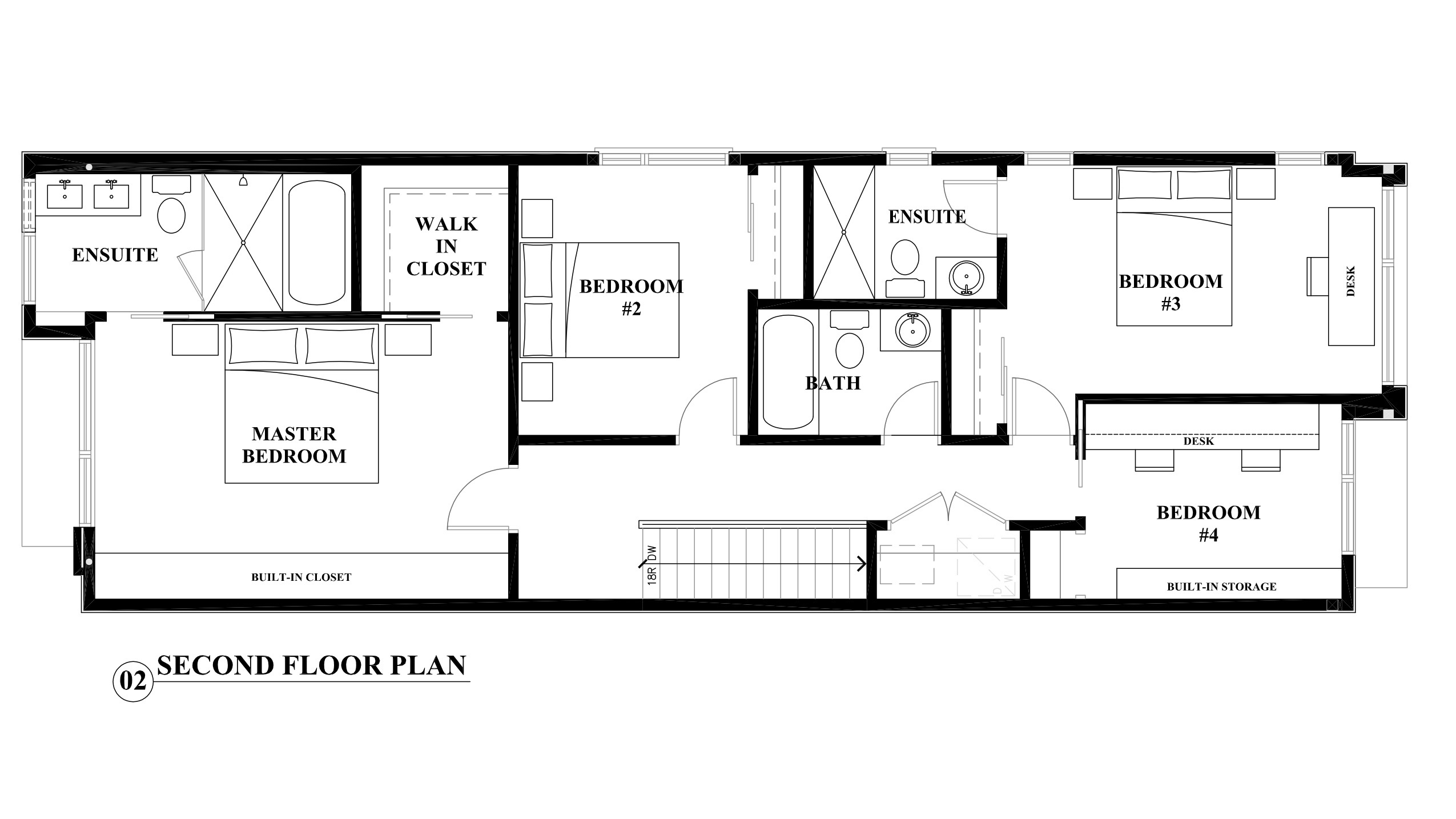 2nd Floor House Plans Second Floor Plan An Interior Design Perspective On