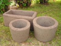 Tufa Planters. Make Hypertufa Planters Backyard Food ...