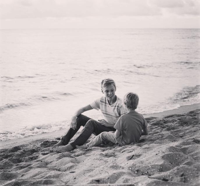 Jonah/Levi beach talk