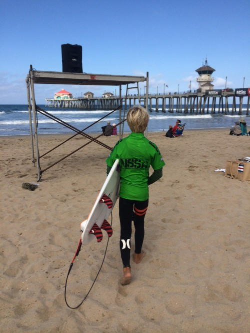 Luke Semi-finals at Nationals NSSA
