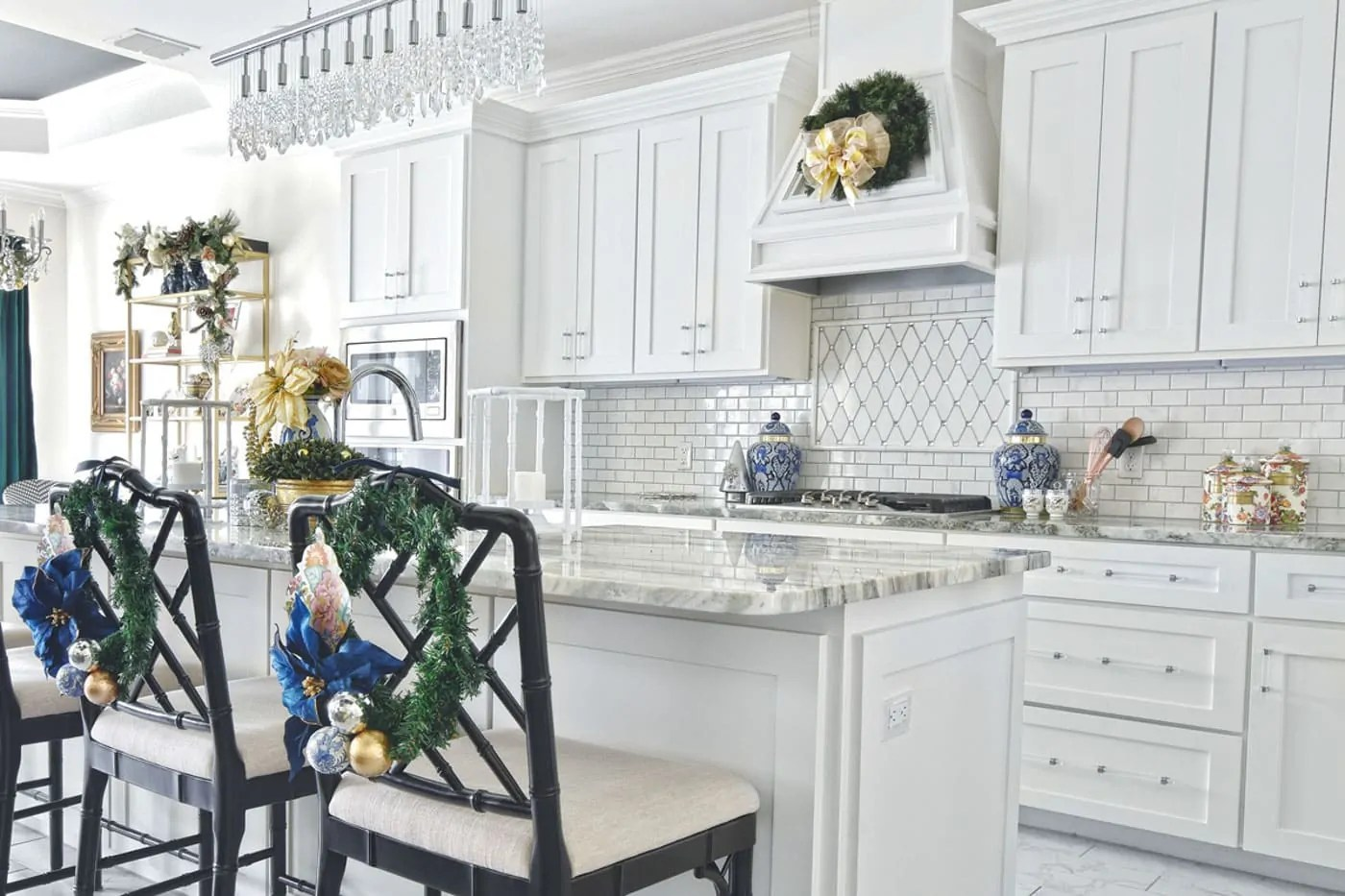 Kitchen Decor Christmas Kitchen Decor Ideas Monica Wants It