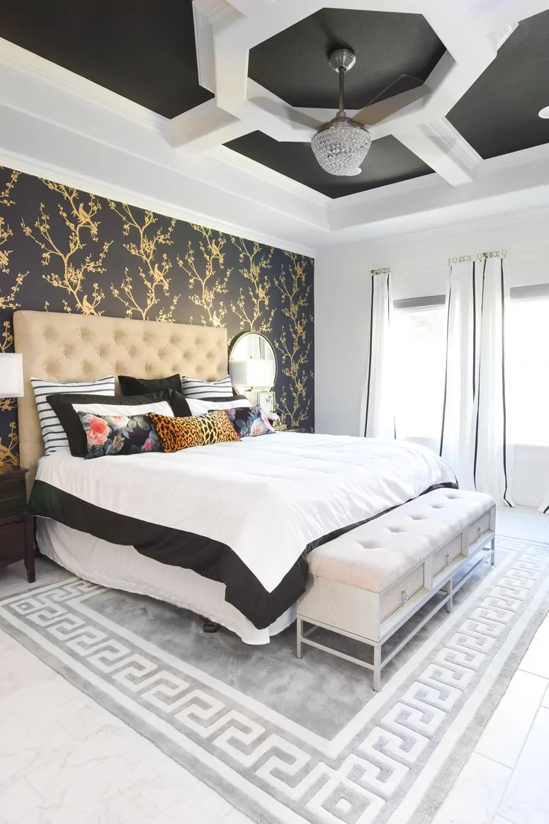 Accent Wall Ideas For Master Bedroom Master Bedroom Accent Wall Ideas Monica Wants It