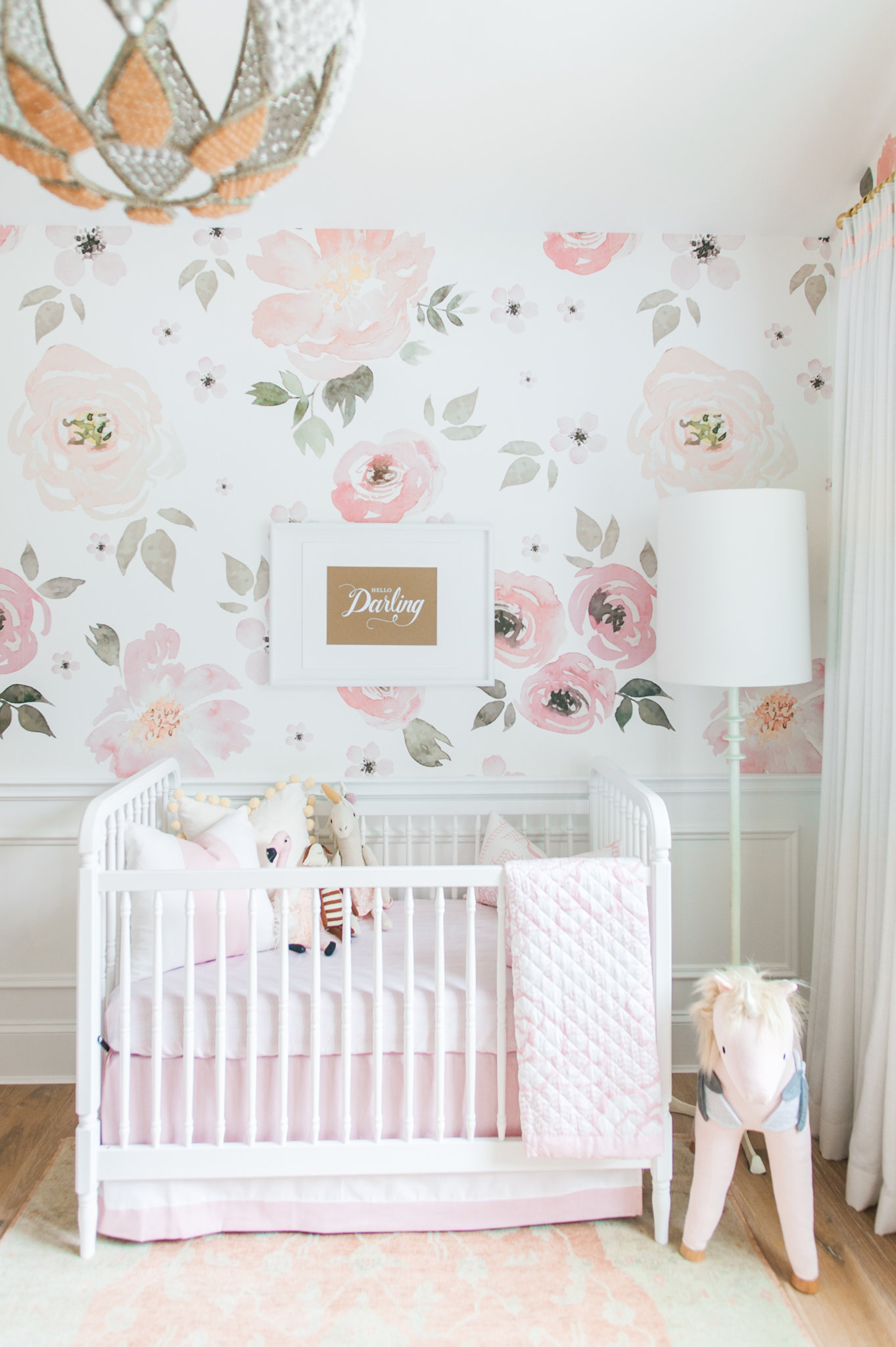 Cute Elephant Design Wallpaper Lillya S Nursery Amp Giveaway Monika Hibbs