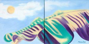 Monika Ruiz Art - Zebra Day 2