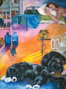Monika Ruiz Art - Puppy Love