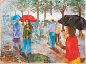Monika Ruiz Art - Rainy Day