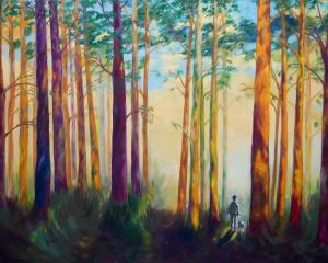 Monika Ruiz Art - Walk In the Woods
