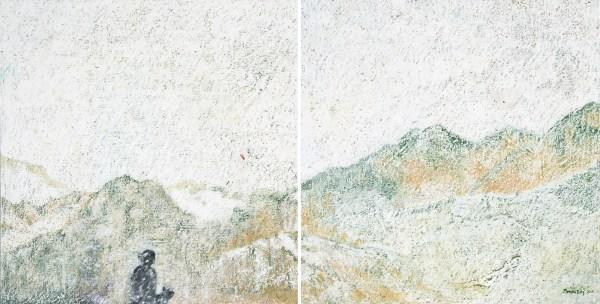 Monika Ruiz Art - Jay & Boo's Snow Walk