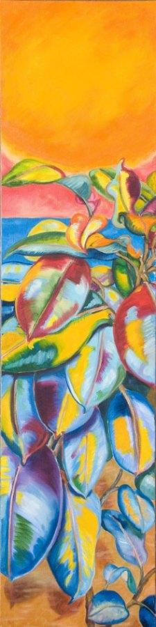 Monika Ruiz Art - Holding The Sun