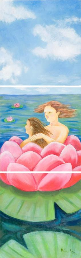 Monika Ruiz Art - Lotus Love